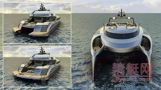 最新未来概念游艇Ego