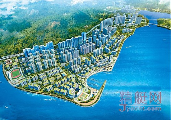 香港东涌东填海造地 将新增95个游艇泊位