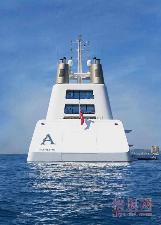 Motor Yacht A   德国 Blohm+Voss   2008