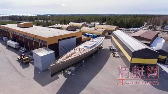 54米Pink Gin VI丨全球最大碳纤维单桅帆船即将下水
