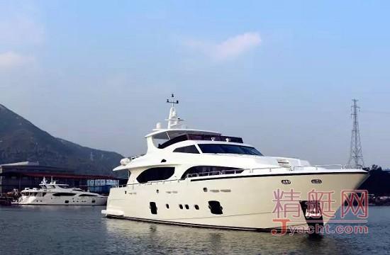 海星游艇(Heysea Yachts)硬实力比肩欧美 中国游艇制造迈出坚实一步