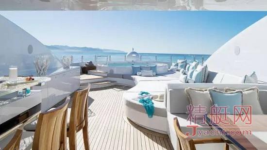 游艇日光甲板的10种风格