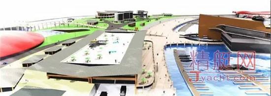 投资10亿元的山海天游艇码头项目