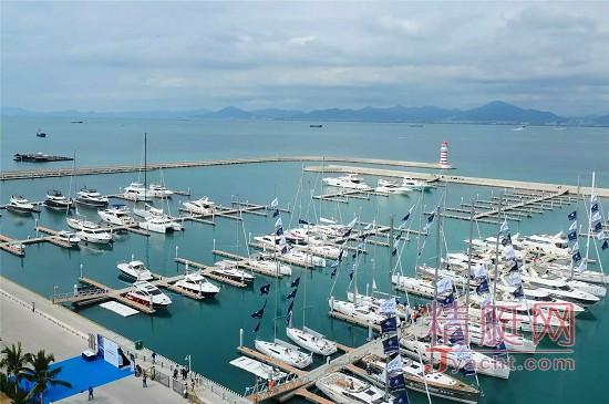 引进航空服务 半山半岛帆船港成首个一站式海陆空游艇码头