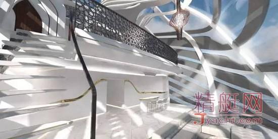 这是英国年轻设计师Jaehoon Ahn的毕业设计,取名neWWave(新浪潮)游艇