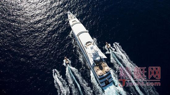 在游艇上办公的8种体验95米Indian Empress