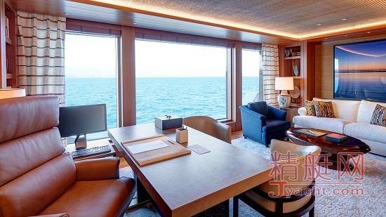 在游艇上办公的8种体验 101.5米Symphony