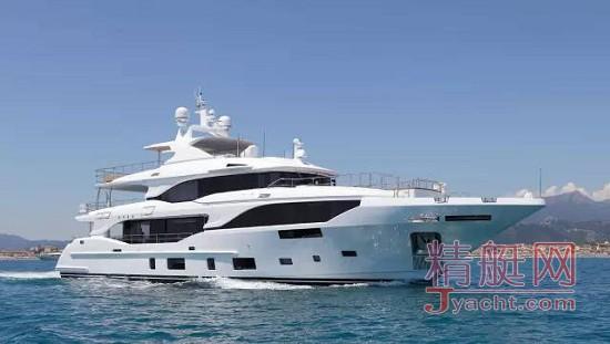 香港上市公司网智金控近亿元订购36米意大利Benetti超艇