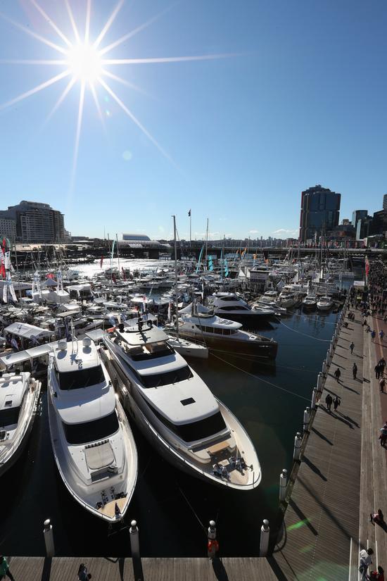 第50届悉尼国际游艇展于8月3日至7日在达令港举行