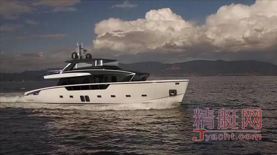 意大利游艇Sanlorenzo SX88