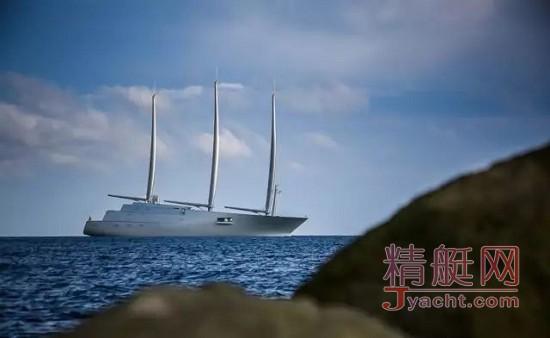 """什么能让""""嘴炮""""闭嘴? 全球最大的帆船A"""