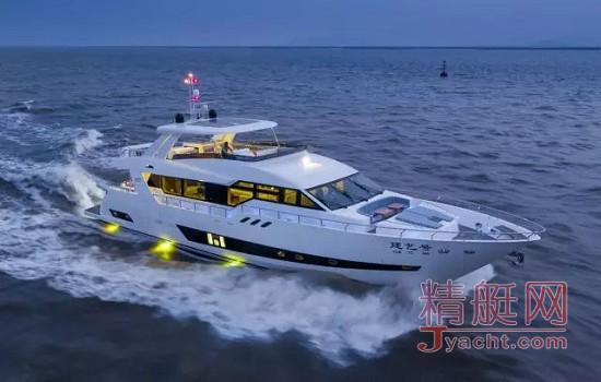 中国海星游艇(Heysea Yachts)轰动全球游艇界 游艇人献礼十九大
