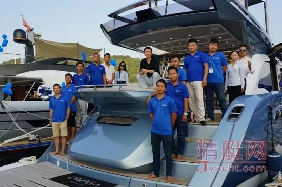 SIBEX 2017 航海之夜暨金帆颁奖典礼日前在深圳隆重举办,欧尼尔游艇斩获三项重量级大奖