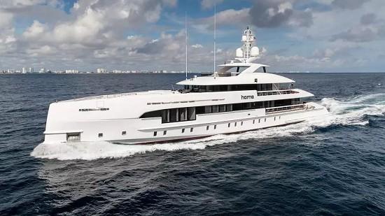 "Home superyacht取名""家""的游艇长什么样?"