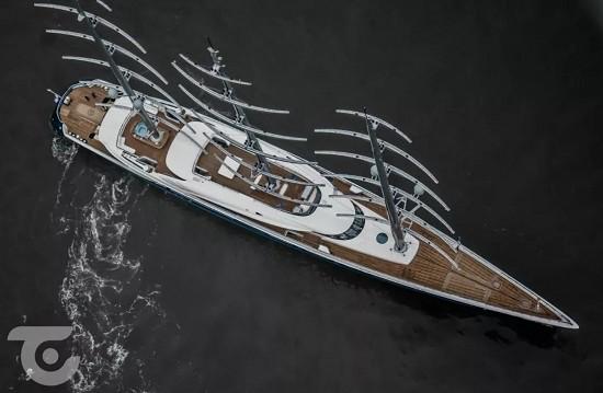 牛逼的经纪公司Moran Yacht and Ship!107米帆船Black Pearl刚交付 又售出109米探险艇