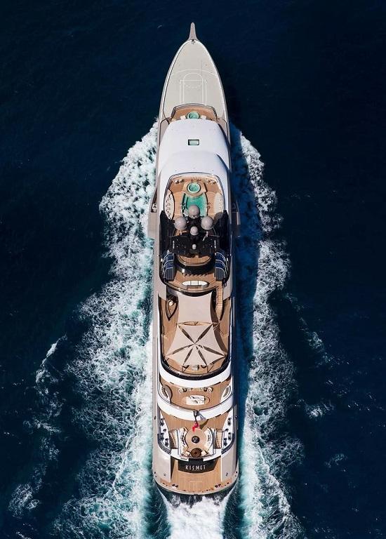 一周一千萬!目前地球上租金最貴的游艇