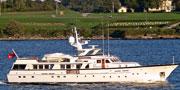 Feadship 1982年钢铝机动艇KRISUJEN