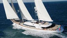 56米Perini Navi双桅帆船Rosehearty