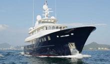 中国造最大钢铝动力艇:Kingship42米Star
