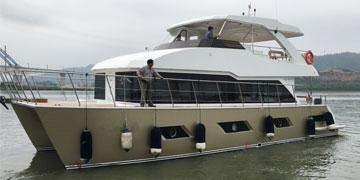 50尺双体游艇