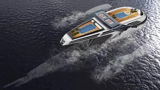 10款最新未来概念游艇