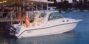 34尺进口专业钓鱼艇