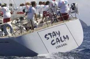 """取名""""保持冷静""""的70尺帆船丨有点小乱的实拍"""