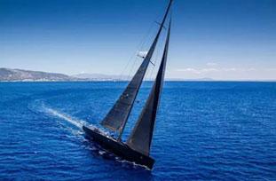 这艘帆船真的很酷