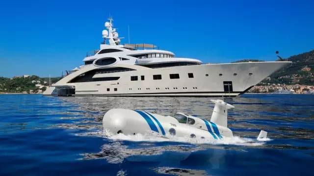 私人潜艇都这么讲究,游艇还好意思将就吗?