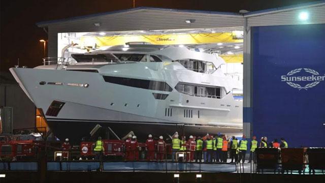 万达可能出售英国豪华游艇制造商圣汐国际