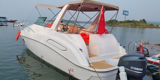 国产7.78米游艇