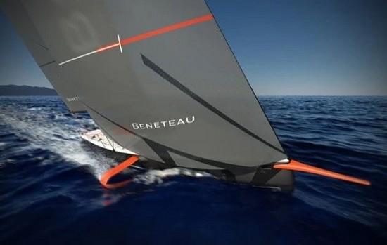 燃爆! 世界上首款量产水翼单体帆船