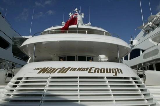 船东?影迷!九艘豪艇都以007电影命名