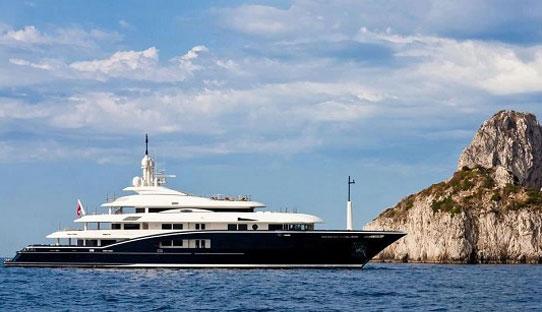 70米游艇 全球有几艘?