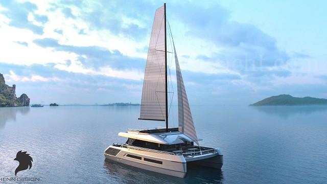 Maxthon 55双体帆船