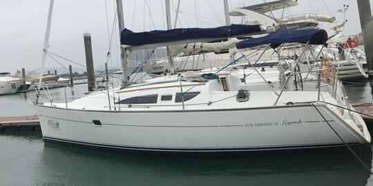 Jeanneau 32帆船