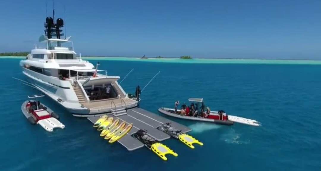 谷歌创始人的海上乐园