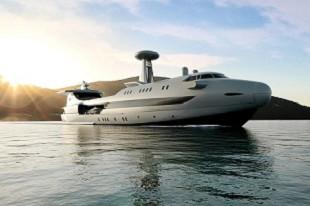 即将开建!设计灵感来源于飞机的游艇