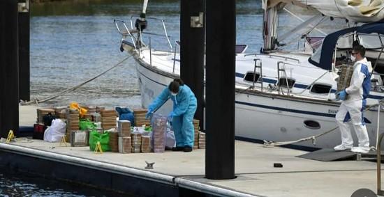 7.5亿美元冰毒藏于50尺帆船 两船员被捕