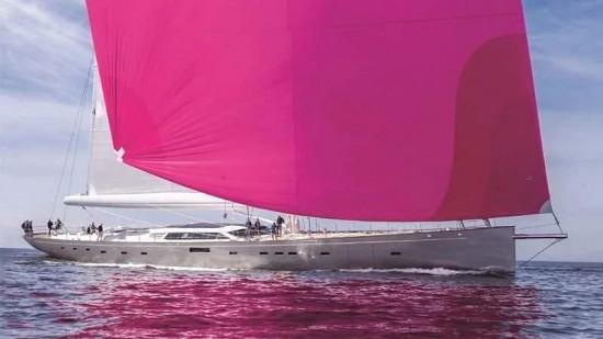 现对外出售!全球最大全碳纤维单桅帆船