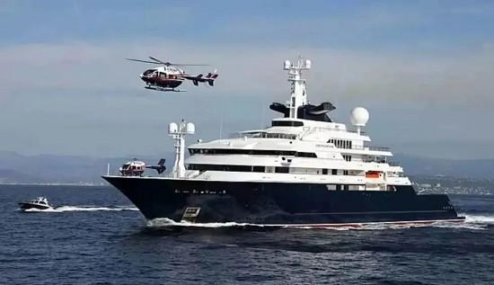 重磅!126米探险艇Octopus已售出