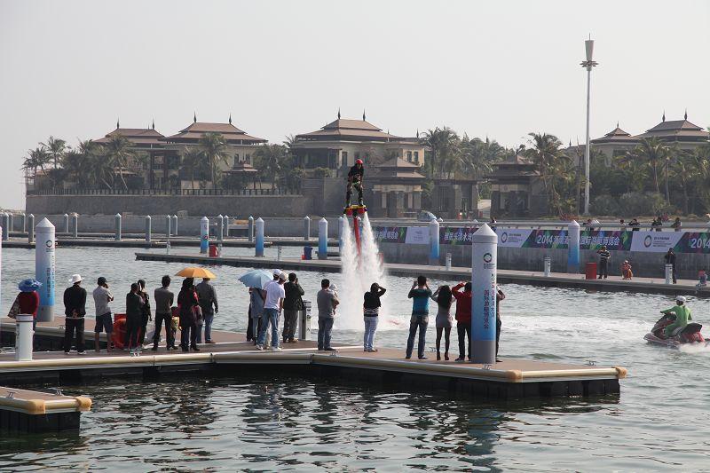 2014海南清水湾国际游艇博览会图片