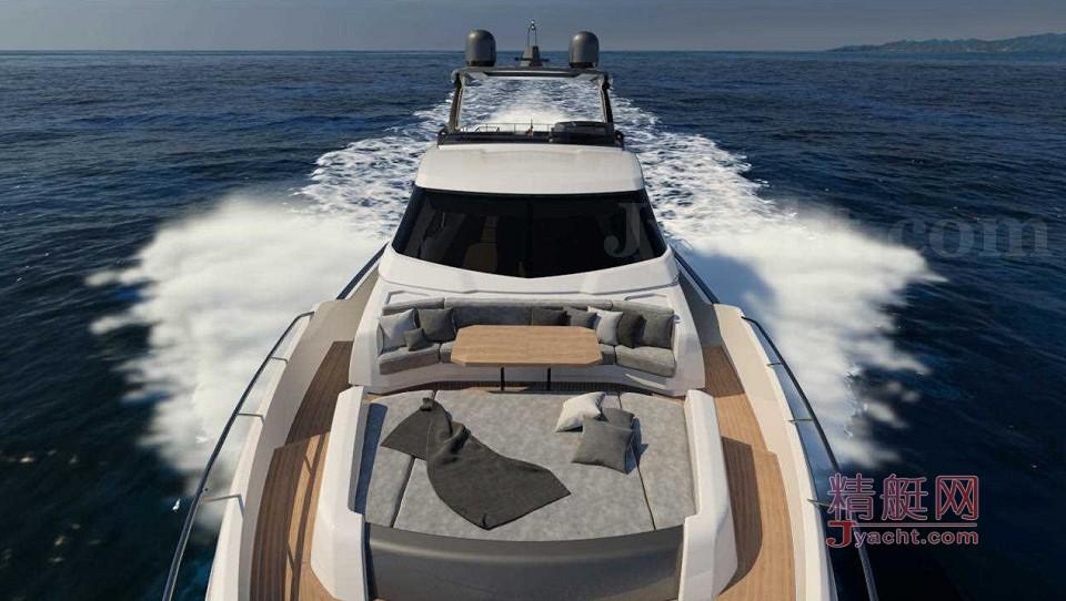 Ferretti Yachts 850 Project